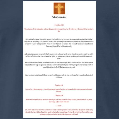 :Christ's ambassadors - Men's Premium T-Shirt