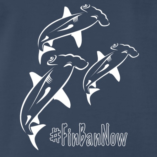 Hammerhead Fin Ban Now - Men's Premium T-Shirt