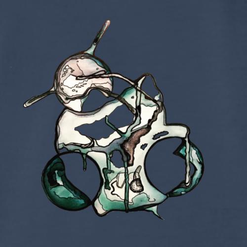 Abstract Leaf - Men's Premium T-Shirt