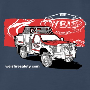 Weis Fire Apparatus Tri-Color - Men's Premium T-Shirt