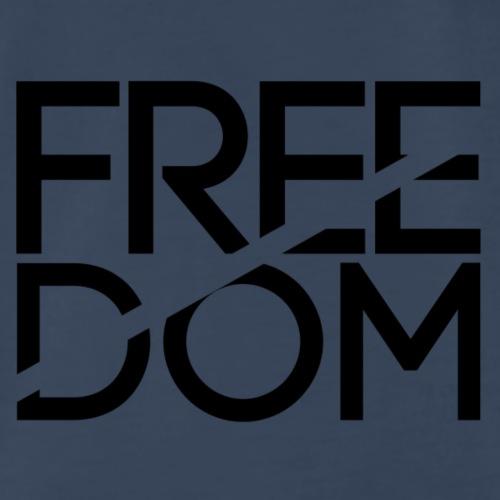 FREEDOM BLACK - Men's Premium T-Shirt