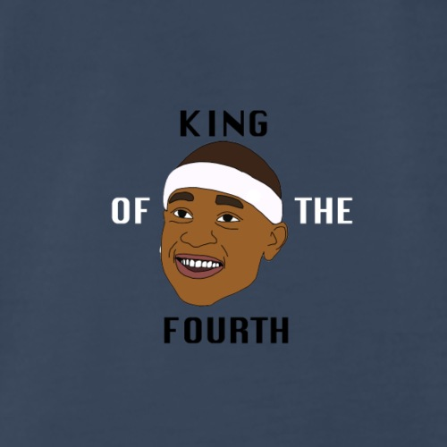 isaiah Thomas King of the Fourth - Men's Premium T-Shirt