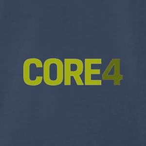 core4 logo - Men's Premium T-Shirt