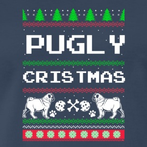 Pugly Christmas - Men's Premium T-Shirt