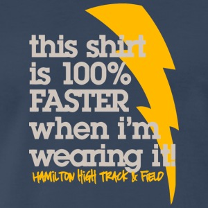 This shirt is 100 FASTER when I m wearing it Ham - Men's Premium T-Shirt