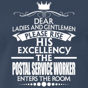 POSTAL SERVICE WORKER - EXCELLENCY - Men's Premium T-Shirt