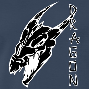 sharp_face_dragon_black - Men's Premium T-Shirt