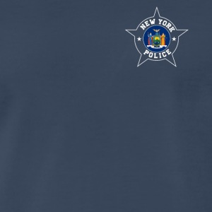 New York Police T Shirt - New York State flag - Men's Premium T-Shirt