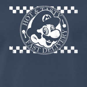 Mario's Pizza Hot & Tasty - Men's Premium T-Shirt