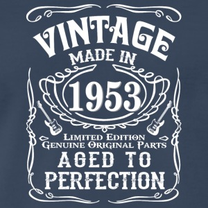 Vintage Made in 1953 Genuine Original Parts - Men's Premium T-Shirt