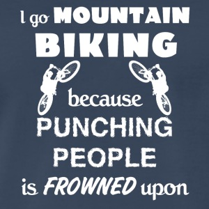 Mountain Biking Love Gift- cool shirt,geek hoodie - Men's Premium T-Shirt