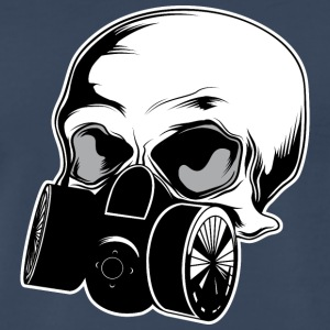skull_with_gas_mask - Men's Premium T-Shirt