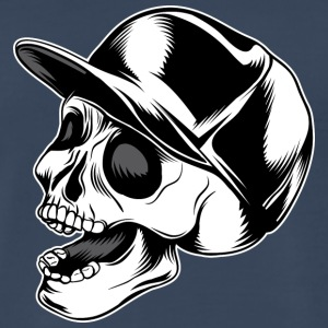 Skull_in_hat - Men's Premium T-Shirt