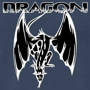 dragon_looking_down_white - Men's Premium T-Shirt