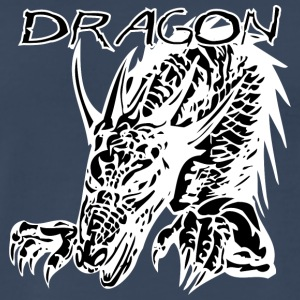 2_hand_dragon_black - Men's Premium T-Shirt