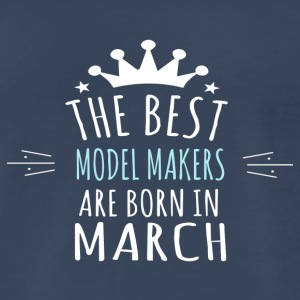 Best MODEL_MAKERS are born in march - Men's Premium T-Shirt