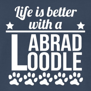 Life Is Better With A Labradoodle - Men's Premium T-Shirt