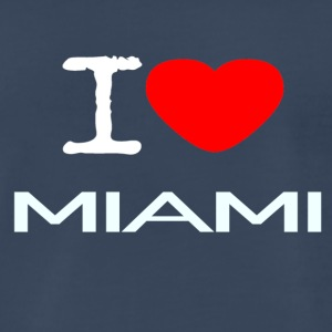 I LOVE MIAMI - Men's Premium T-Shirt