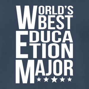World's Best Education Major - Men's Premium T-Shirt