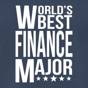 World's Best Finance Major - Men's Premium T-Shirt