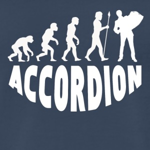 Accordion Evolution - Men's Premium T-Shirt