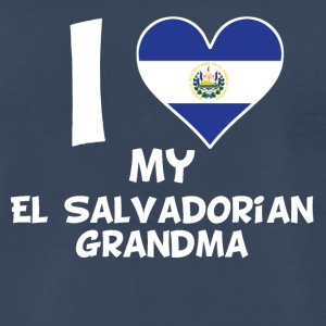 I Heart My El Salvadorian Grandma - Men's Premium T-Shirt
