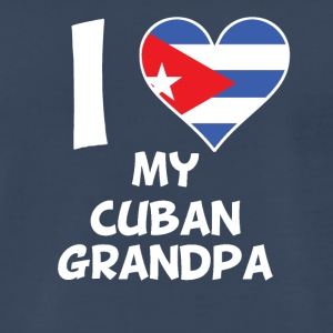 I Heart My Cuban Grandpa - Men's Premium T-Shirt