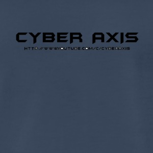 Simpe Cyber Axis Design. - Men's Premium T-Shirt