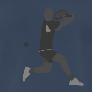 Tennis Player - Men's Premium T-Shirt