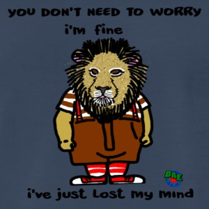 Just Fine Lion - Men's Premium T-Shirt
