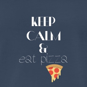 Keep calm and eat pizza - Men's Premium T-Shirt
