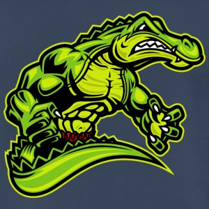 alligator_fighter - Men's Premium T-Shirt