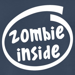 zombie inside (1840B) - Men's Premium T-Shirt