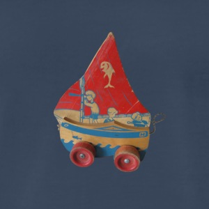 SAIL BOAT PULL TOY - Men's Premium T-Shirt