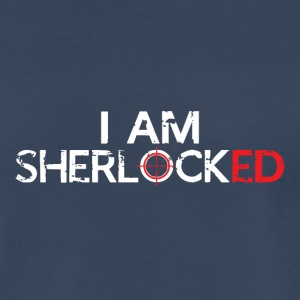 I AM SHERLOCKED - Men's Premium T-Shirt