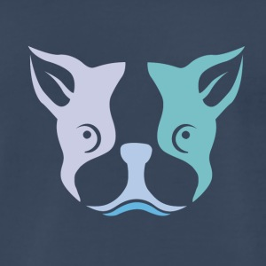Cute Dog T-shirt design - Men's Premium T-Shirt