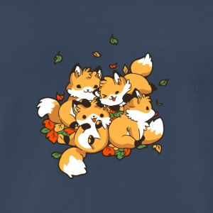 Playful Foxes - Men's Premium T-Shirt