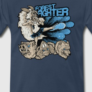 Fox Fighter Cyber System - Men's Premium T-Shirt