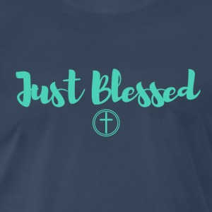 Just Blessed - Men's Premium T-Shirt