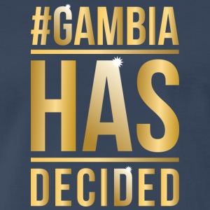 Gambia Has Decided - Men's Premium T-Shirt