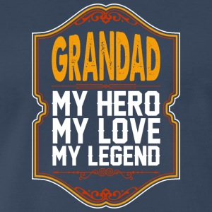 Grandad My Hero My Love My Legend - Men's Premium T-Shirt