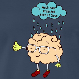 wash your brain - Men's Premium T-Shirt