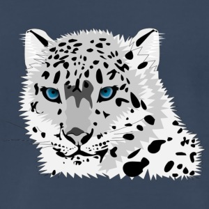 animal snow leopard - Men's Premium T-Shirt