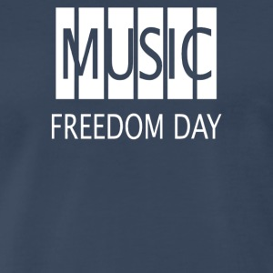 Music Freedom Day - Men's Premium T-Shirt