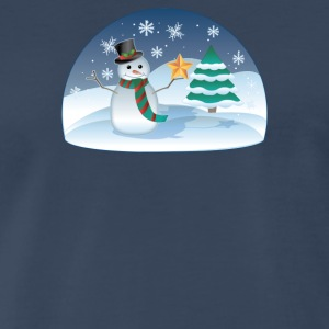 Christmas Scenes - Men's Premium T-Shirt