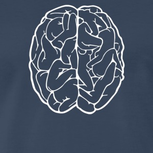 Male Brain - Men's Premium T-Shirt