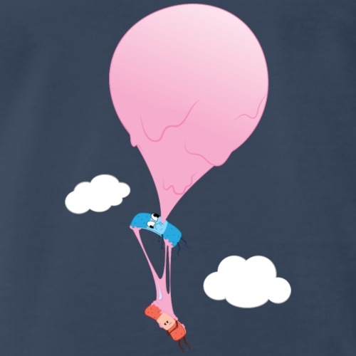 Ouch Bubble Gum Balloon - Men's Premium T-Shirt