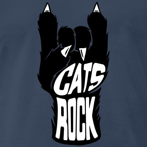 Cats Rock - Men's Premium T-Shirt