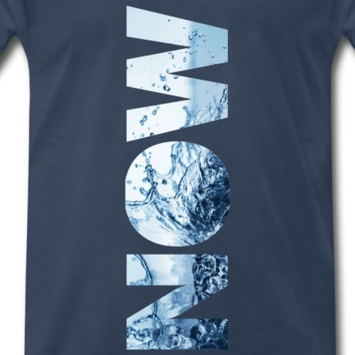 NOWwaterplanet - Men's Premium T-Shirt