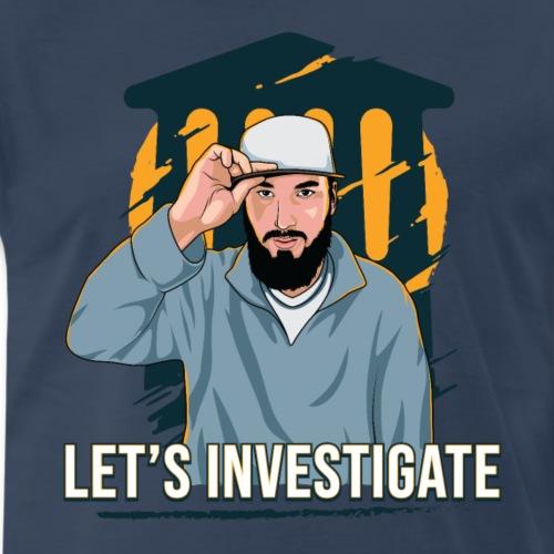 Let's Investigate - Men's Premium T-Shirt